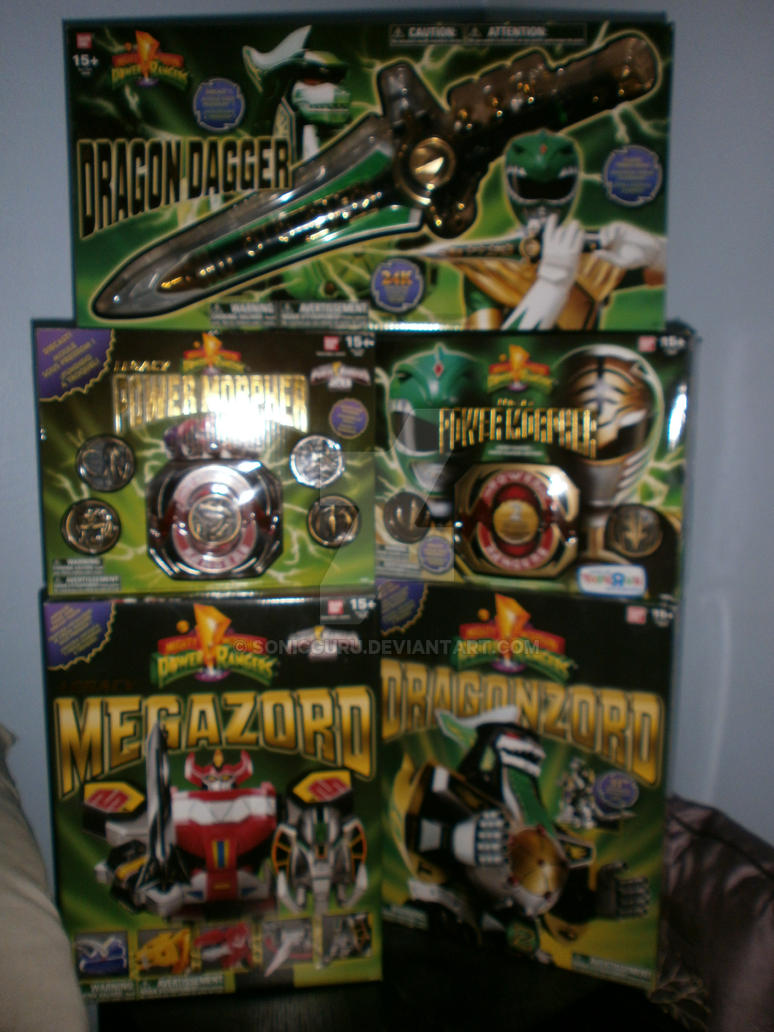 My Legacy Power Rangers Collection by Sonicguru