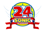 Sonic 24th Logo