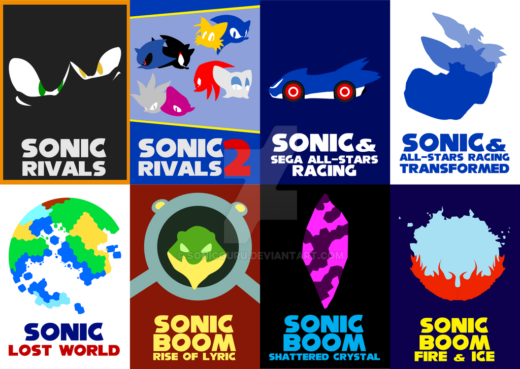 Sonic Game Cards Vol. 6 by Sonicguru