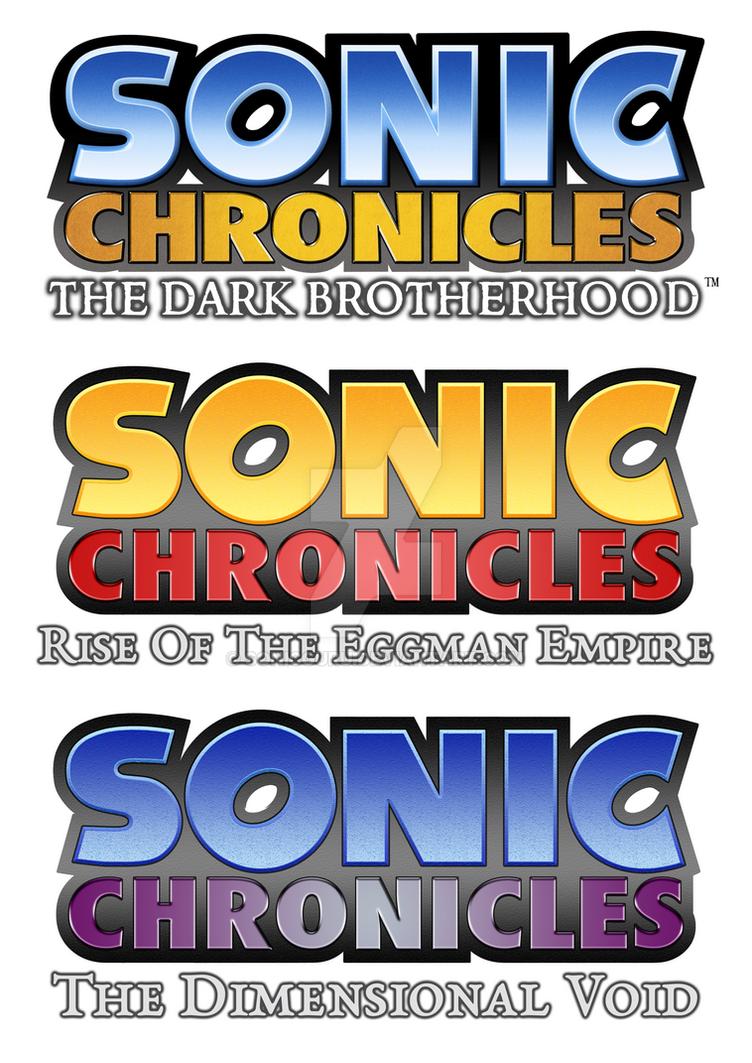 Sonic Chronicles Trilogy by Sonicguru