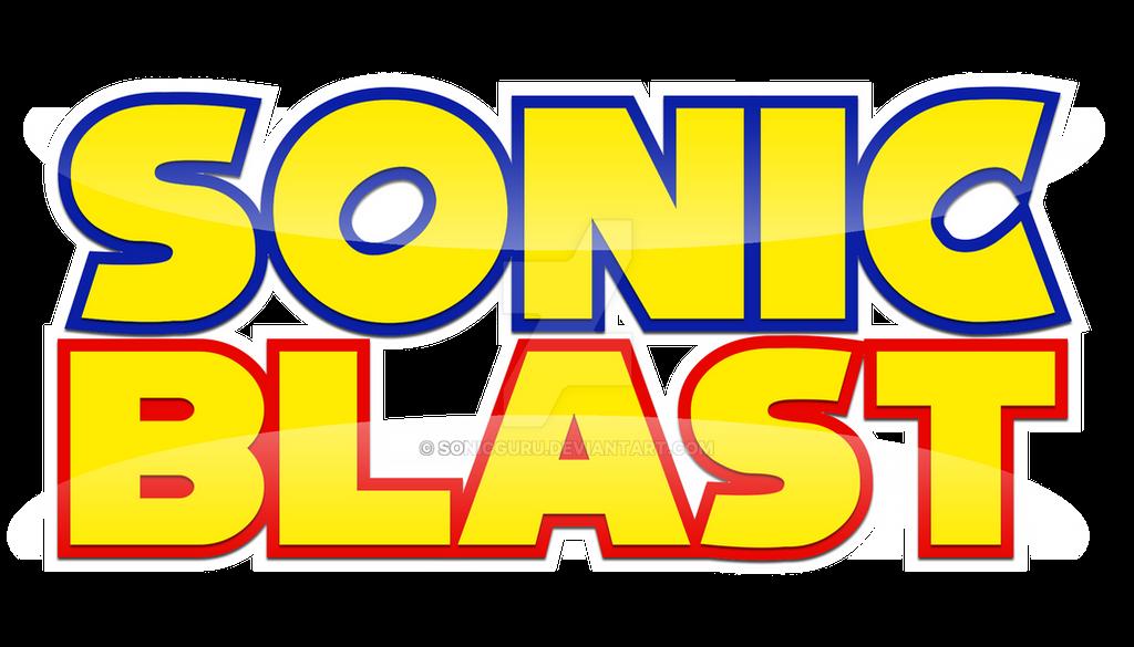 Sonic Blast Logo Remake by Sonicguru