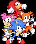 Classic Team Sonic