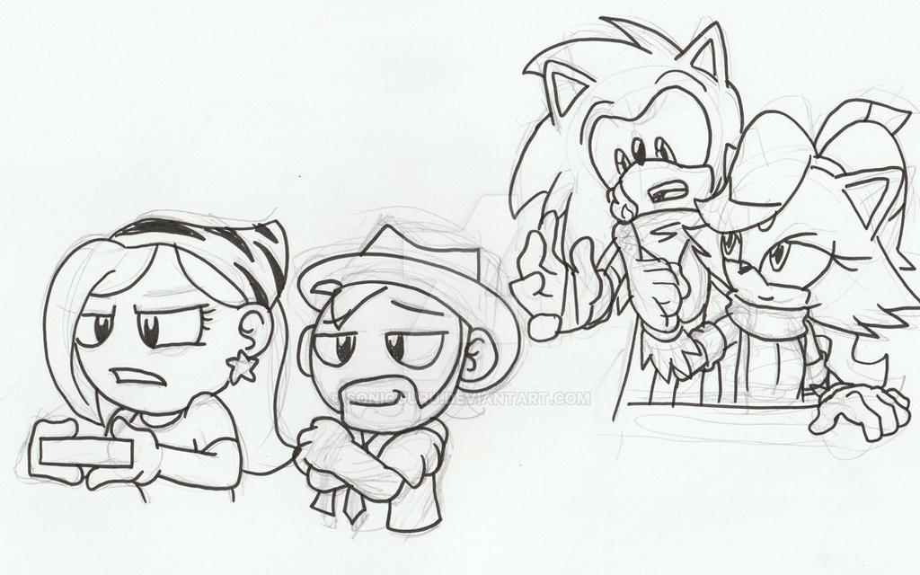 Doodles - 3/10/17 pt.1 by Sonicguru