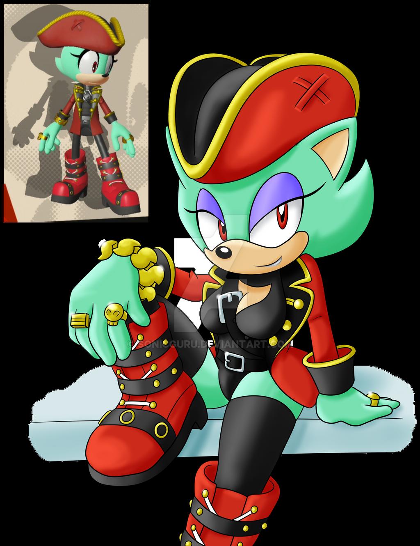 Captain Aqua the Hedgehog by Sonicguru