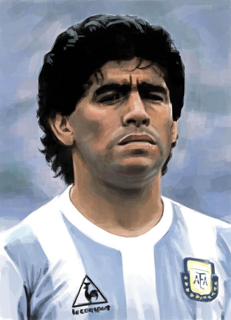 Diego armando Maradona by sabbathsoul on DeviantArt