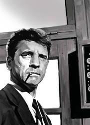 Burt Lancaster by sabbathsoul