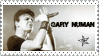 Gary Numan stamp by Mary-Aisha
