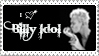 Billy Idol stamp by Mary-Aisha