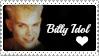 Billy Idol stamp by Mary-Aisha