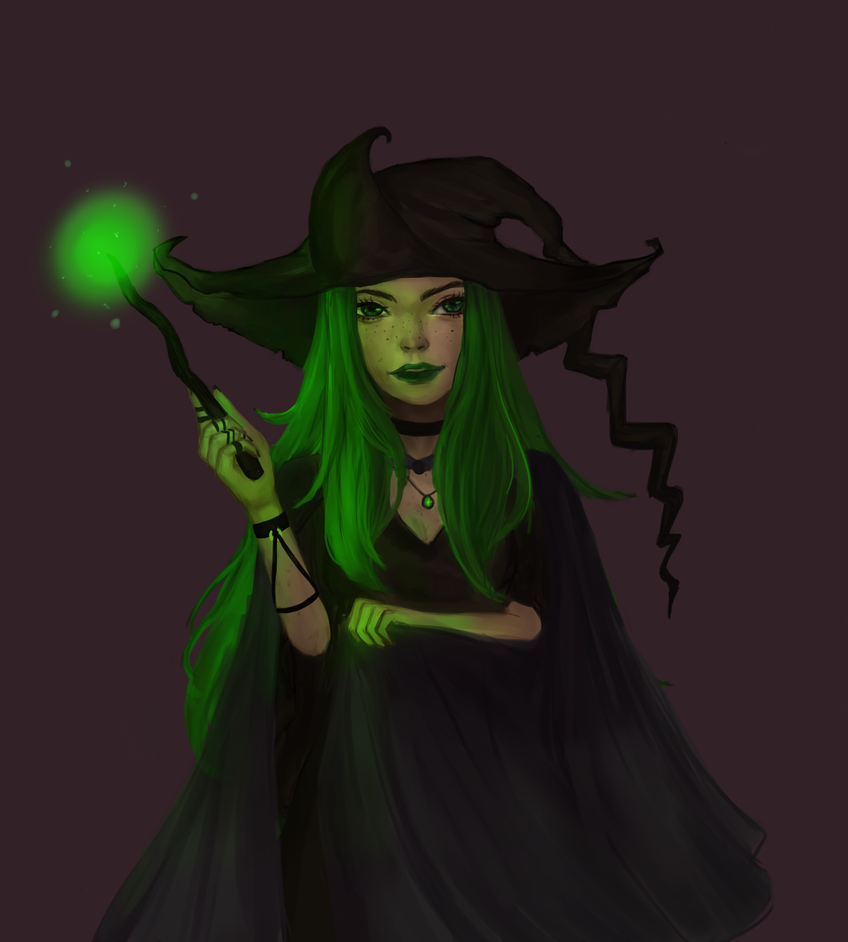 Witch by Jelill