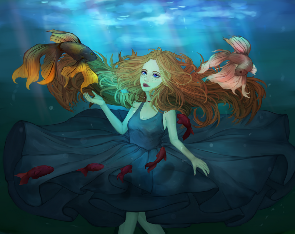 Underwater by Jelill