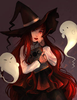 Witch and her friend