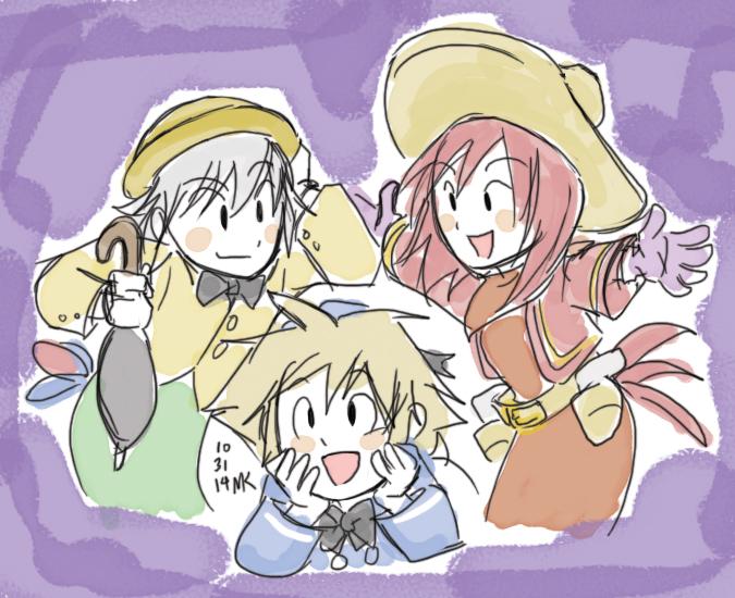 KH: Three Caballeros Cosplay by soggymuffinhead