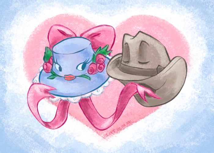 Disney: Hat Love by soggymuffinhead