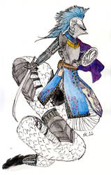 Gobertknightober 2020: Embroided Knight