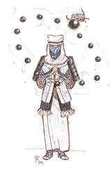 Gobertknightober2020: Faithful Knight