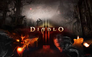 Diablo 3 wallpaper 01b by Diesp