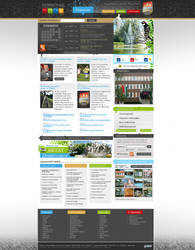 Dombovar city website by OakmE