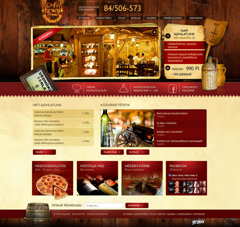 Roxy Restaurant by OakmE