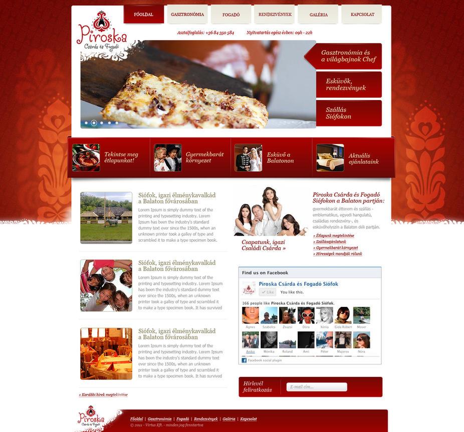 Restaurant design by OakmE