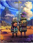 Boy and Girl by Sandfreak