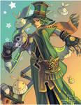 Magician and His Rabbit