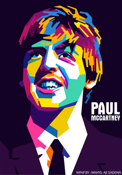 Paul Mccartney By WahyuAjiSadewa
