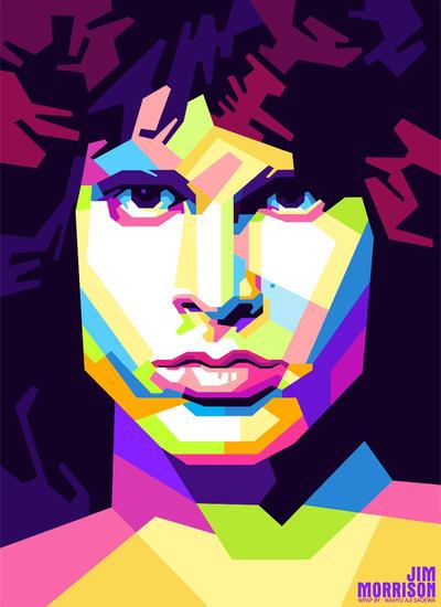 Jim Morrison By WahyuAjiSadewa