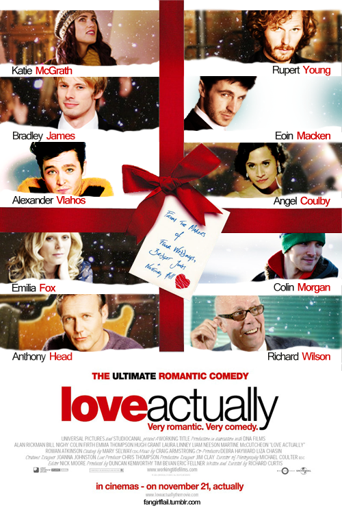 love actually poster remake by celina-tamwood on DeviantArt