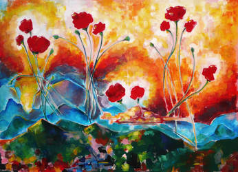 The Poppies Are Calling... And I Must Answer by blake-drake