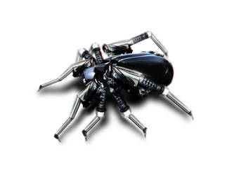 Mechanised Spider by blake-drake