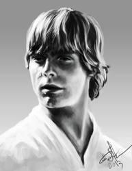 Luke Skywalker by blake-drake