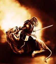 Slaying the Lion by blake-drake