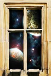 Space Window by blake-drake