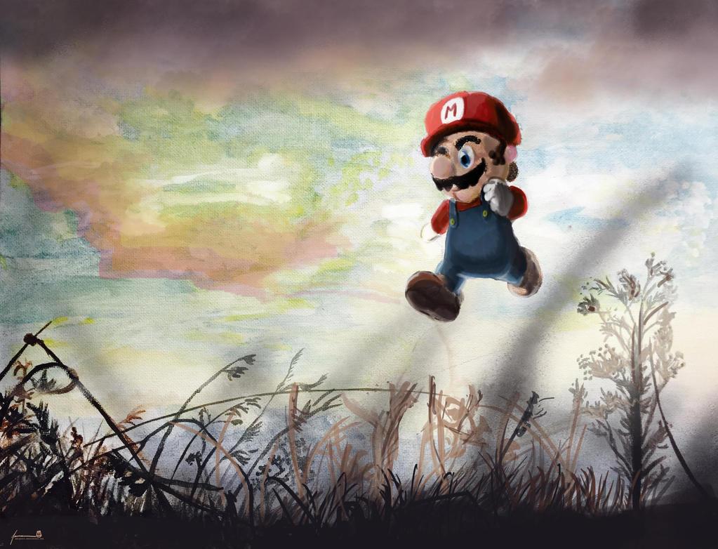 Super Mario by PBTGOART