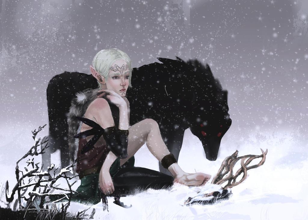 Dread Wolf by PBTGOART