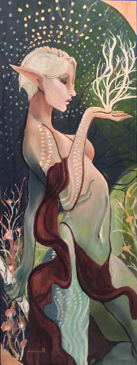 Lavellan Alana by PBTGOART