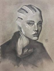 Liara T'soni by PBTGOART