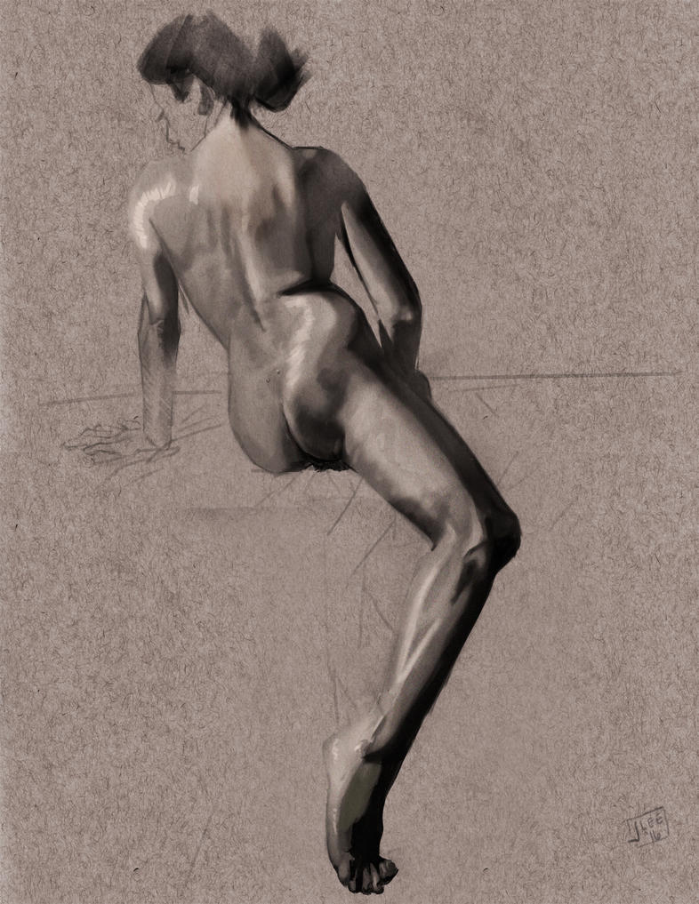 Study of the Lower Leg 2 by PBTGOART