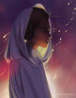 Princess Leia by PBTGOART