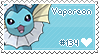Vaporeon Stamp by Deleca-7755