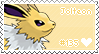 Jolteon Stamp by Deleca-7755