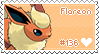 Flareon Stamp by Deleca-7755