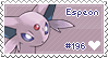 Espeon Stamp by Deleca-7755