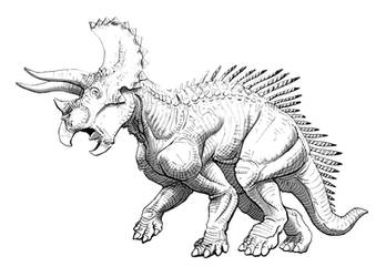 Triceratops by Art-Minion-Andrew0