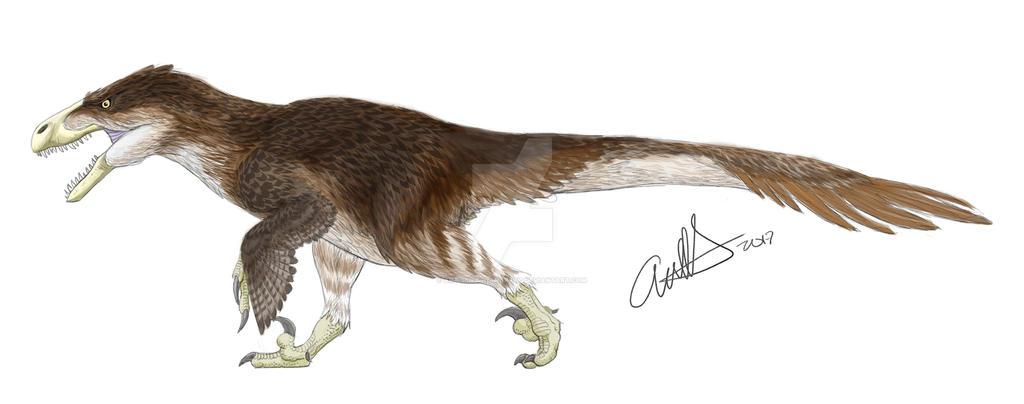 Fluffy Utahraptor by Art-Minion-Andrew0