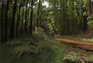 Forest Speedpaint by Art-Minion-Andrew0