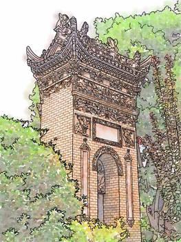 Travelogue - Daipuyuan Mosque, Xian, China.