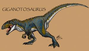 Giganotosaurus by Art-Minion-Andrew0