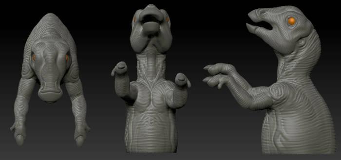 Baby Hadrosaur 3D